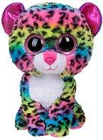 """Леопард - Dotty - Плюшена играчка от серията """"Beanie Boos"""" - играчка"""