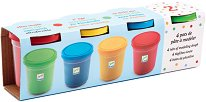Пластилин - Комплект от 4 цвята