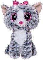 """Котенце - Kiki - Плюшена играчка от серията """"Beanie Boos"""" - фигура"""