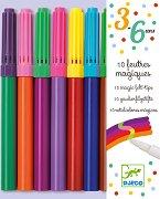 Магически флумастери - Комплект от 10 цвята