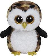 """Бухалче - Owliver - Плюшена играчка от серията """"Beanie Boos"""" - играчка"""