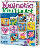 """Направи сам и нарисувай - Керамични магнити - Творчески комплект от серията """"Girl Craft"""" - творчески комплект"""