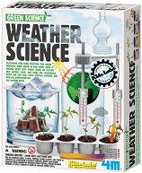 """Зелена наука - Климатът и времето - Детски образователен комплект от серията """"Kidz Labs"""" - образователен комплект"""