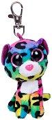 """Ключодържател - Леопардът Dotty - От серията """"Beanie Boos"""" - играчка"""