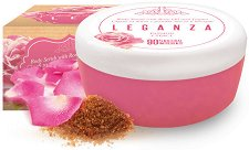 Leganza Passion Rose Oil & Yogurt Body Scrub - душ гел