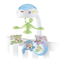Музикална въртележка с проектор - Butterfly Dreams - играчка