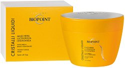 """Biopoint Cristalli Liquidi Instant Shine Mask - Хидратираща маска за блясък за всеки тип коса от серията """"Cristalli Liquidi"""" -"""