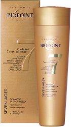 """Biopoint Seven Ages Youth Shampoo - Шампоан за млада и блестяща коса от серията """"Seven Ages"""" - олио"""