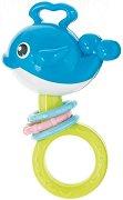Синя бебешка дрънкалка - Whale -