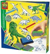 Колекция печати - Динозаври - Творчески комплект - творчески комплект