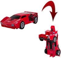 """Сайдсуайп - 2 в 1 - Детска играчка със звуков и светлинен ефект от серията """"Трансформърс"""" -"""