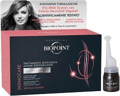 "Biopoint Dermocare Anticaduta Donna Anti-Hair Loss Lotion - Ампули против косопад за жени с растителни стволови клетки от серията ""Dermocare Anticaduta"" -"