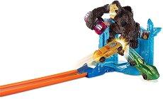 """Писта - Gorilla Getaway - Комплект с количка от серията """"Hot Wheels - City"""" - играчка"""