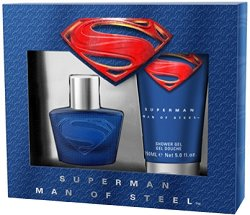 Superman Man of Steel - Комплект от парфюм и душ гел за мъже -