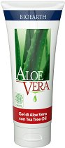 Bioearth Aloe Vera - Охлаждащ гел с алое вера и чаено дърво - сапун