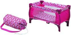 Легло-кошарка за кукла - Apple - Детска играчка - творчески комплект