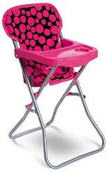 Столче за хранене за кукла - Yummy - Детска играчка - количка