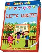Let's write - Образователни карти на английски език с маркер -