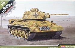 Танк - German T-34/76 - Сглобям модел -