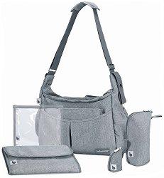Чанта - Urban Bag - Аксесоар за детска количка с подложка за преповиване и термобокс -