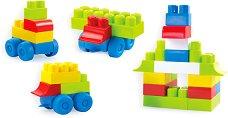 """Детски конструктор с едри цветни елементи - Комплект от 39 части от серията """"Maxi Blocks"""" -"""