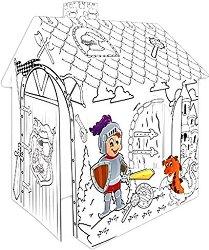 Детска сгъваема къщичка - Рицар -