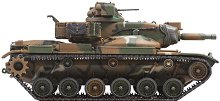 Танк - M60A2 U.S. Army Patton - Сглобяем модел - макет