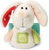 """Бебешка дрънкалка-гривна - Зайче - От серията """"My First NICI"""" - играчка"""