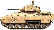 Танк - M2 Bradley IFV - Сглобяем модел -