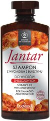 """Farmona Essence of Tradition Jantar Shampoo - Шампоан за слаба и увредена коса с кехлибар от серията """"Essence of Tradition Jantar"""" - продукт"""