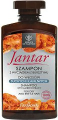 """Farmona Essence of Tradition Jantar Shampoo - Шампоан за суха и цъфтяща коса с кехлибар от серията """"Essence of Tradition Jantar"""" - серум"""