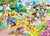 Мики Маус и приятели - Двулицев пъзел - пъзел
