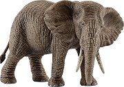 """Женски африкански слон - Фигура от серията """"Животни от дивия свят"""" -"""