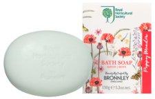 "Bronnley RHS Poppy Meadow Luxury Soap - Луксозен сапун с аромат на цветя от серията ""Poppy Meadow"" -"
