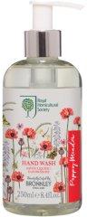 "Bronnley RHS Poppy Meadow Hand Wash - Течен сапун с аромат на цветя от серията ""Poppy Meadow"" -"
