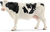 """Крава - Холщайн - Фигура от серията """"Животните от фермата"""" - играчка"""