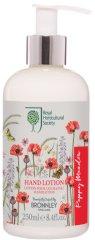 """Bronnley RHS Poppy Meadow Hand Lotion - Лосион за ръце с аромат на цветя от серията """"Poppy Meadow"""" -"""