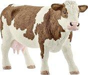 """Крава - Симентал - Фигура от серията """"Животните от фермата"""" - фигура"""