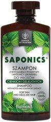 """Farmona Essence of Tradition Saponics Shampoo - Шампоан за тънка и слаба коса с коприва и сапуниче от серията """"Essence of Tradition Saponics"""" -"""