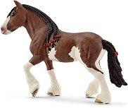 """Клайдсдейлска кобила - Фигура от серията """"Животните от фермата"""" - фигури"""