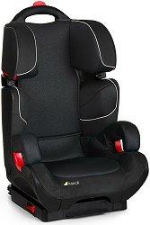 """Детско столче за кола - Bodyguard Plus: Black - За """"Isofix"""" система и деца от 15 до 36 kg -"""