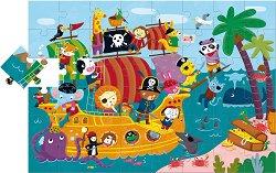 """Пиратски кораб - Пъзел от серията """"Ludattica"""" -"""