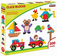 Детски конструктор - Комплект от 200 части - играчка