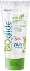 BIOglide Natural Lubricant American Plus Ginseng - Натурален интимен лубрикант с женшен -