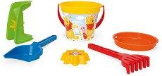"""Комплект за игра с пясък - Детски играчки от серията """"Мечо Пух"""" -"""