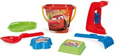 """Комплект за игра с пясък - Детски играчки от серията """"Колите"""" - играчка"""