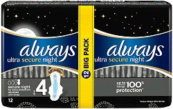 Always Ultra Secure Night Extra Protection Duo - душ гел