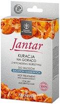 """Farmona Essence of Tradition Jantar Hot Treatment - Термотерапия за възстановяване и подхранване на суха коса от серията """"Essence of Tradition Jantar"""" - балсам"""