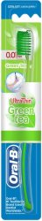 Oral-B UltraThin Green Tea Extra Soft - Четка за зъби със зелен чай - шампоан