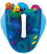 Контейнер за съхранение на играчки за баня - творчески комплект